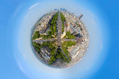 Urbanization of the planet — Stock Photo