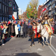 Stockfoto: Parade on occasion of Independence Day
