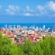 Royalty-Free Stock Photo: Downtown panorama of Barcelona, Spain