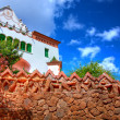 Architecture in Park Guell, Barcelona — Stock Photo #7147956