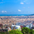 Stock Photo: Barcelona, Spain skyline panorama