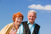 Happy senior couple in love — Stock Photo