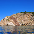 Stock Photo: Rock coastline of Adriatic sea, landscape of Montenegro