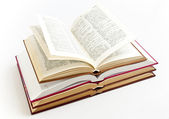 Open books — Stock Photo