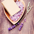 Lavender love — Stock Photo