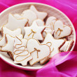 Lovely gingerbreads — Stock Photo