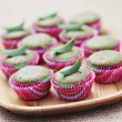 Green tea muffins — Stock Photo #7553365