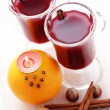 Hot wine — Stock Photo