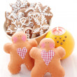 Sweet gingerbreads — Stock Photo