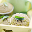 Green tea muffins — Stock Photo #7727934