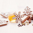 Honey gingerbreads — Stock Photo