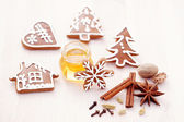Honey gingerbreads — ストック写真