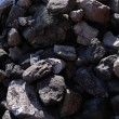 Stock Photo: Black coals