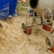 Concrete mixer — Stock Photo #6889454