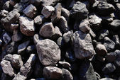 Black coals — Stock Photo