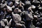Black coals — Stock Photo