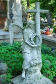 Historic cemetery in Sandomierz, Poland — Stock Photo