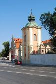 在桑多梅日,波兰历史修道院. — 图库照片