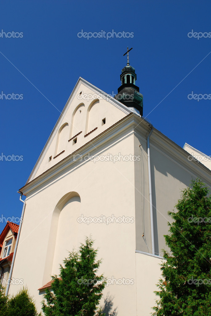Church of Sts. Joseph in Sandomierz, Poland. — Lizenzfreies Foto #6948904