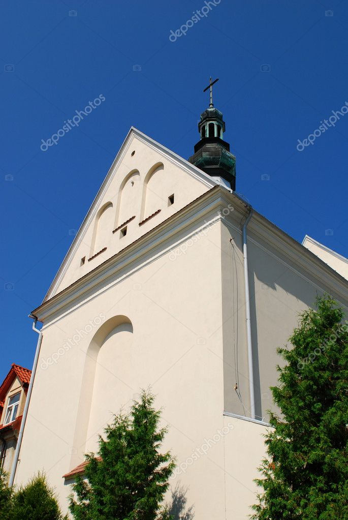 Church of Sts. Joseph in Sandomierz, Poland. — Stockfoto #6948904