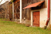 Old wooden shed — Stockfoto