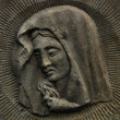 Holy Mary statue - Foto Stock