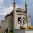 Old cemetery in Momina, Poland. - Foto Stock