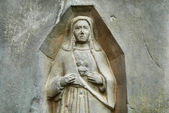 Holy mary statue — Foto Stock