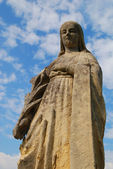 Holy mary statue — Stockfoto
