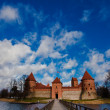 Stock Photo: Castle in Trakai. Lithuania