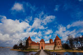 Castle in Trakai. Lithuania — Stock Photo