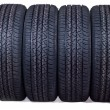 Royalty-Free Stock Photo: New tyres