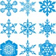 Snowflakes — Stock Vector #7725279