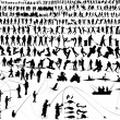 thumbnail of Over 300 people and kids  silhouette