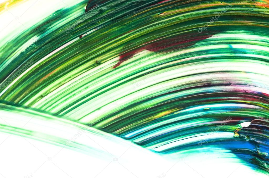 Mixing paints. background   Stock Photo #6879457
