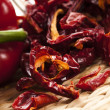Dried red pepper — Stock Photo