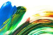 Mezcla de pinturas. fondo — Foto de Stock