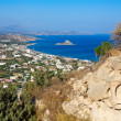 Kamari Bay On Kos Island — Stock Photo