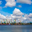 Port In Klaipeda - Foto Stock
