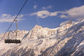 Quad Chairlift — Stock Photo