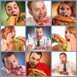 hlad baner — Stock fotografie