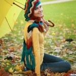 Girl in park — Stock Photo #6890864