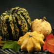 Stock Photo: Yellow pumpkin