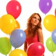 Funny balloons — Stock Photo