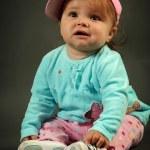 Cute little girl — Stock Photo #7114110