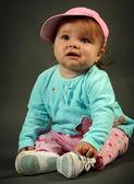 милая маленькая девочка — Стоковое фото