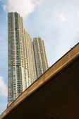 High-rise residential buildings — Stock Photo
