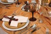Elegant dinner — Stock Photo