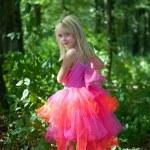 Little girl in fairy costume — Stock Photo #7252414