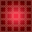 Vector red pattern with squares — Stock Vector
